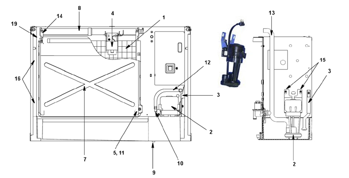 parts for manitowoc machine