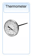 Bally Thermometer Temperature Gauge