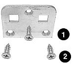 Ardco 12036-P123 Repair Plate Screw (each)
