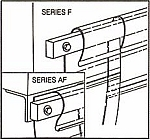 F Series Curtain Installation Bar Price Per Ft.
