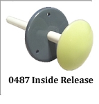 Kason 487A (487-A6) Frost Free Inside Release w/ Glow-In-The-Dark Knob - For Use With K56 Latch