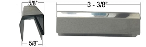 Replacement 1216-c Hinge Cover For Refrigerator Freezer And Cooler