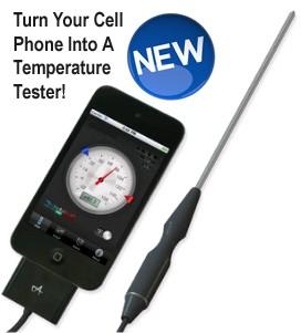 Iphone temperature sensor cooking temperature sensor for for Application iphone temperature interieur