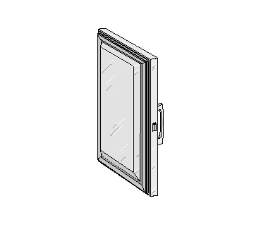 Glenco Star Metal  5D-120022-2R    Stainless Steel Door  25-5/8