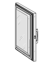 Glenco Star Metal    5D-120004-4R    Stainless Steel Door  30-1/2