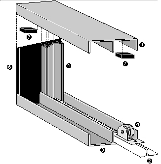 Door Channel Diagram