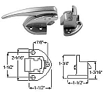 KASON 931-A01 LATCH Complete Flush To 1/8