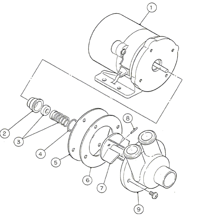 Arctic Cat Atv 2000 Oem Parts Diagram For Water Pump Assembly
