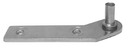 Beverage Air   13B01-005A  Top/Bottom RH hinge Bracket with Removable Pin
