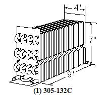 Beverage Air 305-132C Evaporator Coil