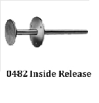 Kason 0482A Inside Release For K56 Latch (Minimum Door Thickness 2-1/2