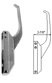 Component Hardware R35-1105X Offset Handle Complete
