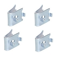 True 920158 Shelf Clips, 4 Pack