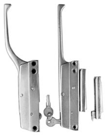 172-02  Straight Handle Latch Only