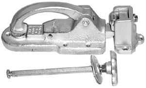 "Polar 441-A01 Series Walk-In Safety Latch Flush To 11/16"" Offset"
