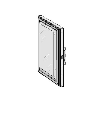 "Glenco Star Metal   5D-120024-2R  Stainless Steel Door  31-3/32"" x 31-11/16""  Pivot"