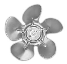 "Delfield  216-2500  6-3/4"" Diameter Fan Blade"