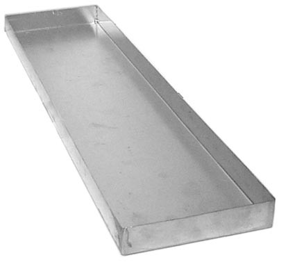 "Glenco Star Metal GC-629-1  Condensate Pan for GC-139-10 Heater  19"" x 5"" x 1"""