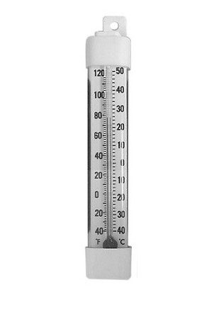 "Randell HD-THR100  4"" Hanging Thermometer"