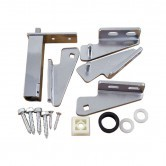 Glenco Star Metal   2856-KIT  Hinge Kit  (1-LH/1-RH)