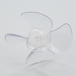 Delfield MCC18239 Fan Blade 6 inch Dia. CW, Clear Lexan