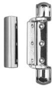 "Nor Lake     000755  7/8"" Offset Chrome Hinge and Cover"