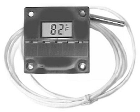 Randell  HD-THR600  Digital Thermometer - Solar Powered
